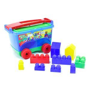 Mega Bloques Boy Toys Vagon 45 Piezas