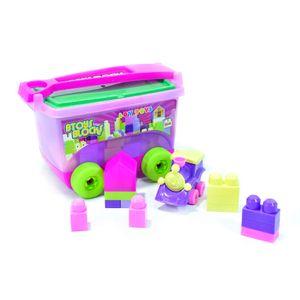 Mega Bloques Boy Toys Vagon 45 Piezas Para Niñas