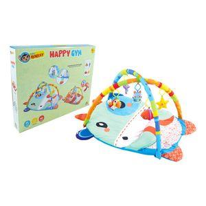 Tapete Baby Monkey Con Gimnasio Para Bebé