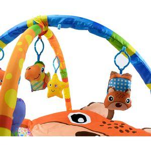 Tapete Baby Monkey Con Gimnasio Para Bebé Diseños Aleatorio (Revisar)
