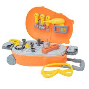 Maletín de herramientas con llantas para llevar