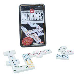 Domino en caja de lata