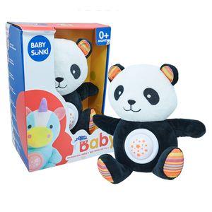 Oso panda de tela para Bebés con luces y sonidos