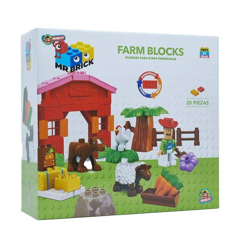 Bloques-Preescolares-Finca-x-25-piezas